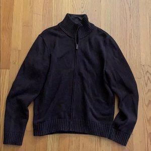 Ralph Lauren zip up sweater size XL